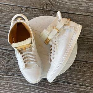 Men's Buscemi 100MM High Top Sneakers Italian Made